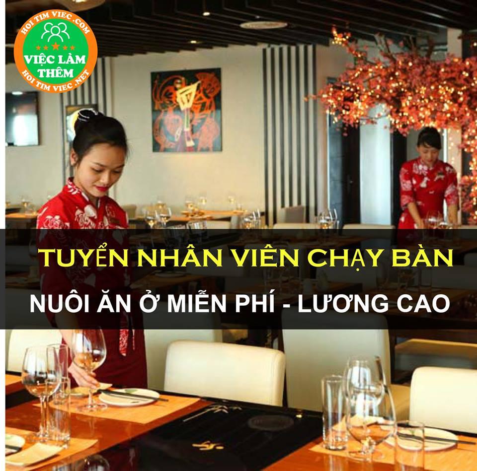 Tuyển nhân viên phục vụ ăn ở miễn phí – Bún Bò Huế, hủ tiếu Nam Vang