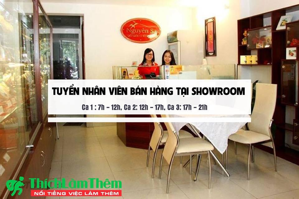 Tuyển nhân viên bán hàng theo ca – Showroom Yến Sào Nguyên Sa
