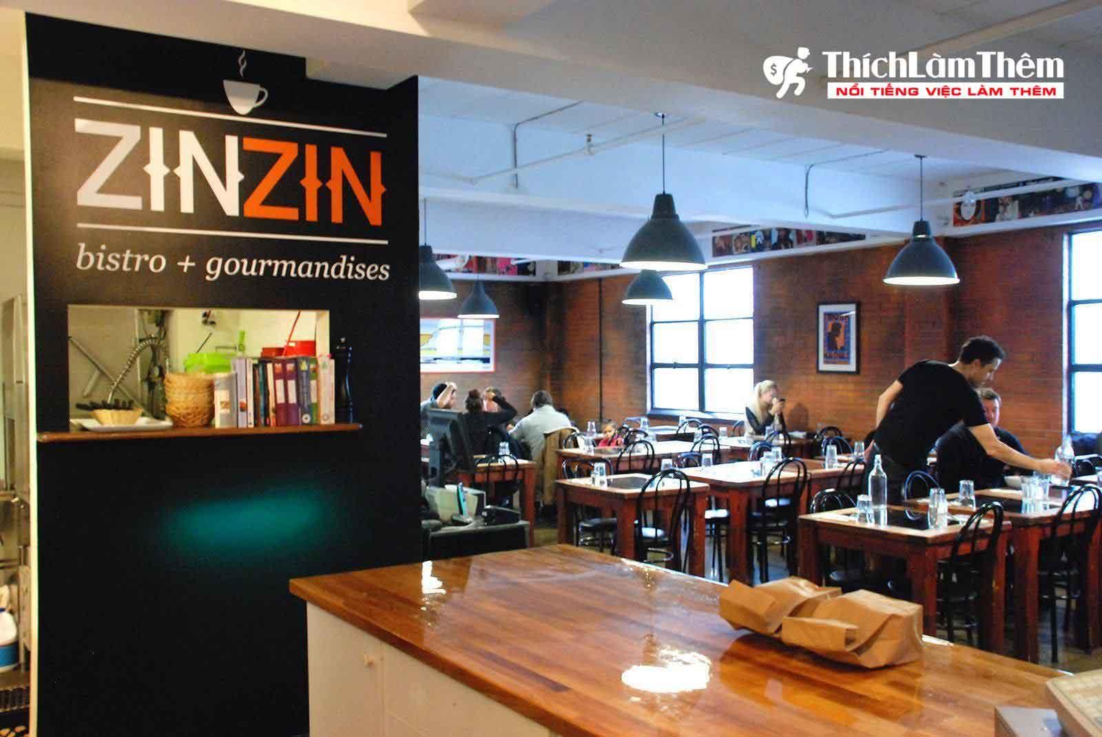Tuyển nhân viên phục vụ – Quán Cafe , Cơm VP ZinZin Coffee