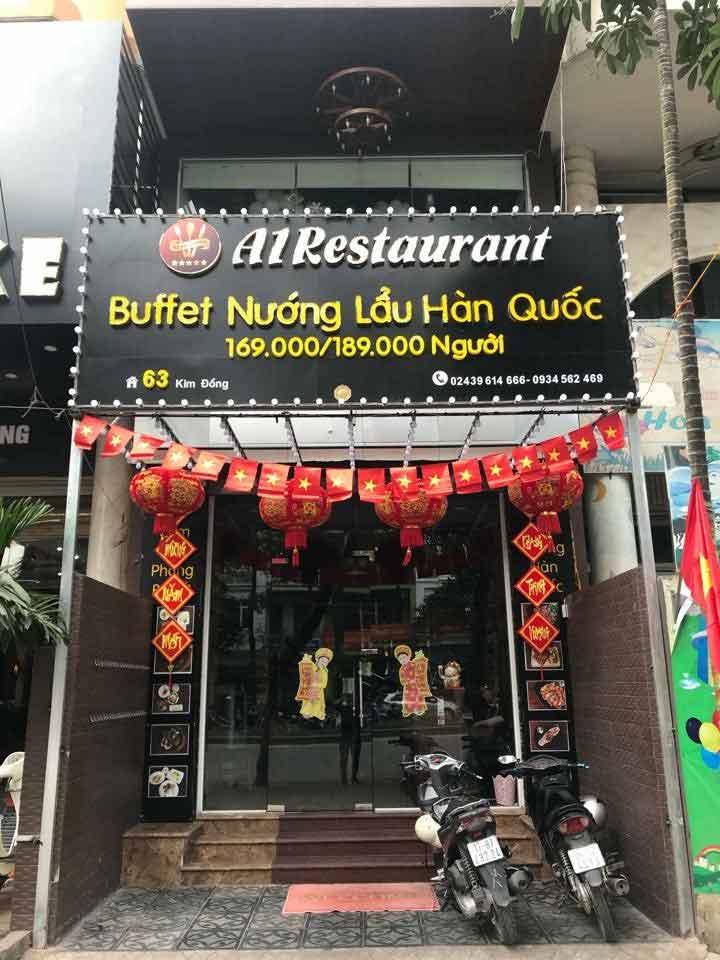 Tuyển nhân viên nhiều vị trí – Hệ thống nhà hàng A1 Restaurant Korean & BBQ Hotpot