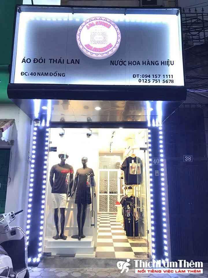 Tuyển nhân viên bán hàng, livestream – Apa Store