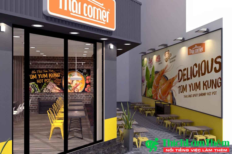 Tuyển nhân viên phục vụ theo ca – Nhà hàng Food Corner