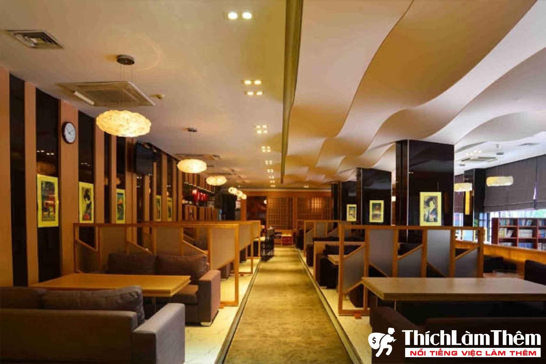 Tuyển nhân viên phục vụ, chạy đồ, thu ngân – Nhà hàng Nhật