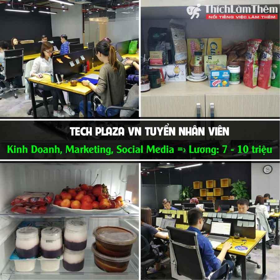 Tuyển nhân viên nhiều vị trí – Tech Plaza VN