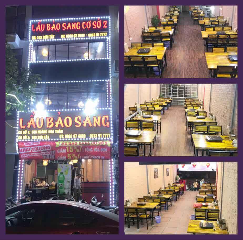 Tuyển nhân viên phục vụ bàn – quán lẩu Bảo Sang