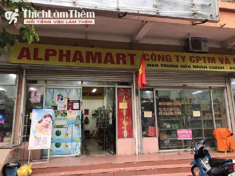 Tuyển nhân viên bán hàng, thu ngân – Siêu thị Alphamart