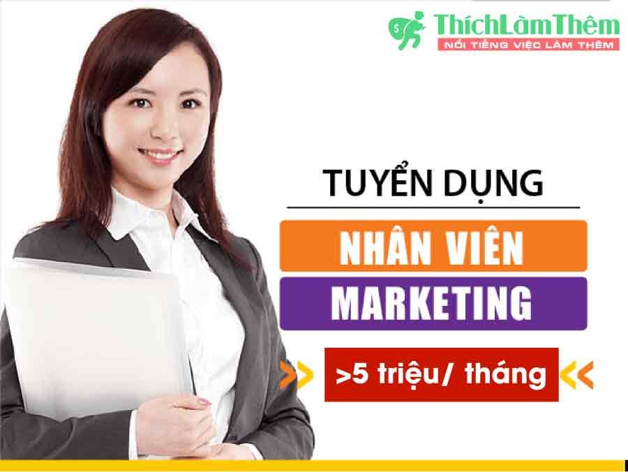 Tuyển nhân viên Marketing lương cao – Công ty Pok
