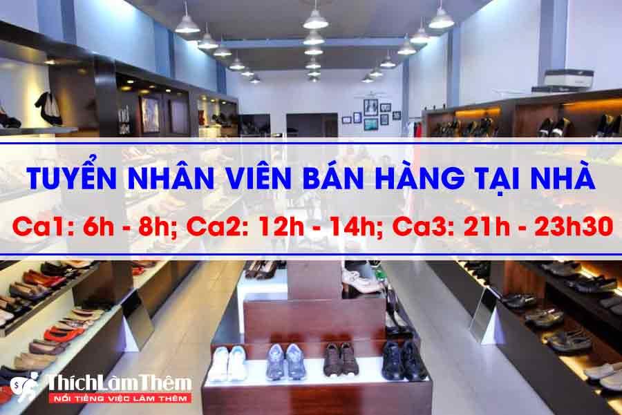 Tuyển nhân viên bán hàng online tại nhà – shop giaynam.com