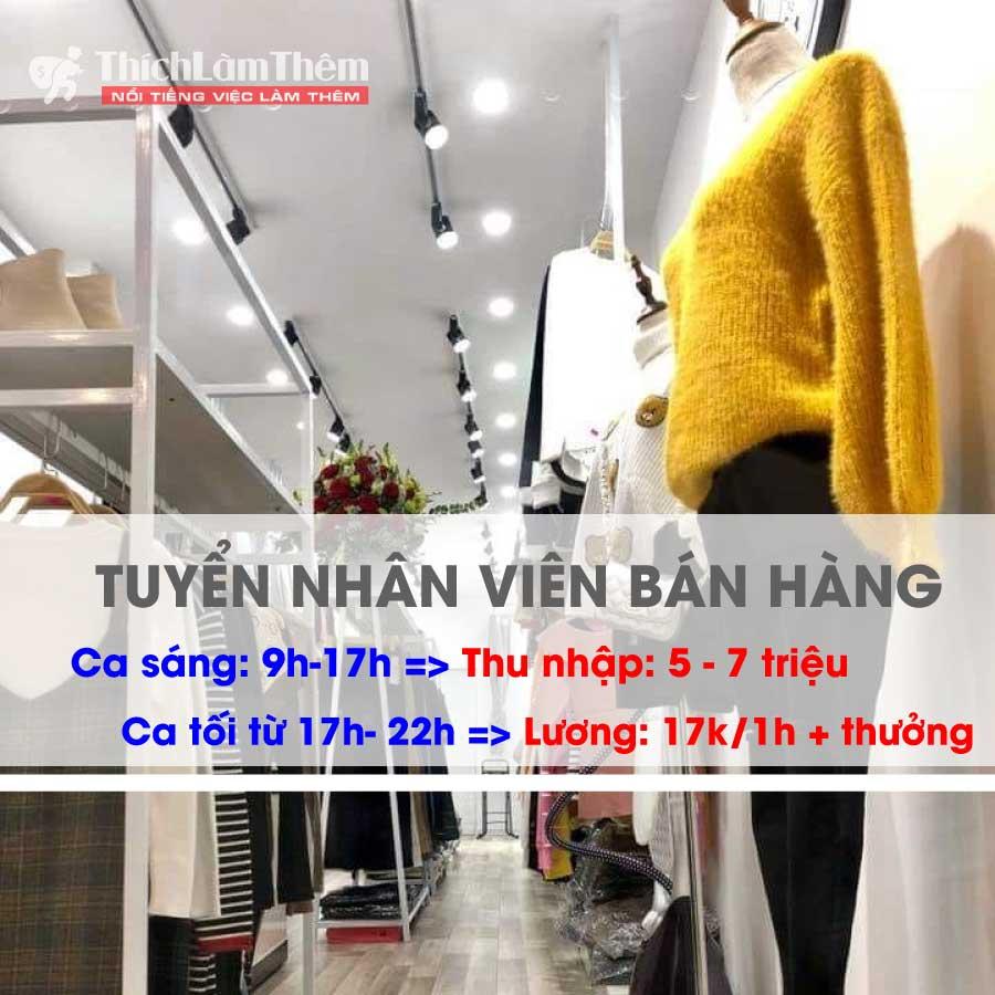 Tuyển nhân viên bán hàng – Shop thời trang Safy Store