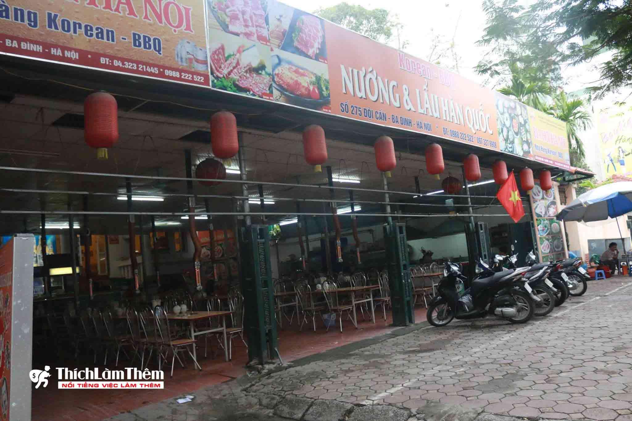 Tuyển nhân viên phục vụ – Nhà hàng Korean BBQ
