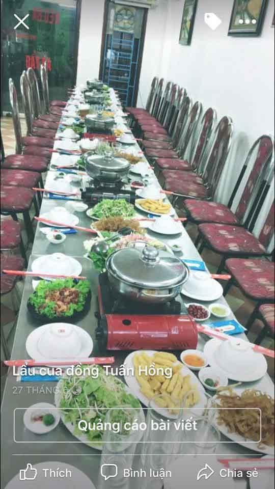 Tuyển nhân viên chạy bàn – nhà hàng Tuấn Hồng