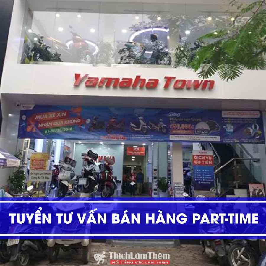 Tuyển nhân viên tư vấn bán hàng – Cửa hàng Yamaha Town