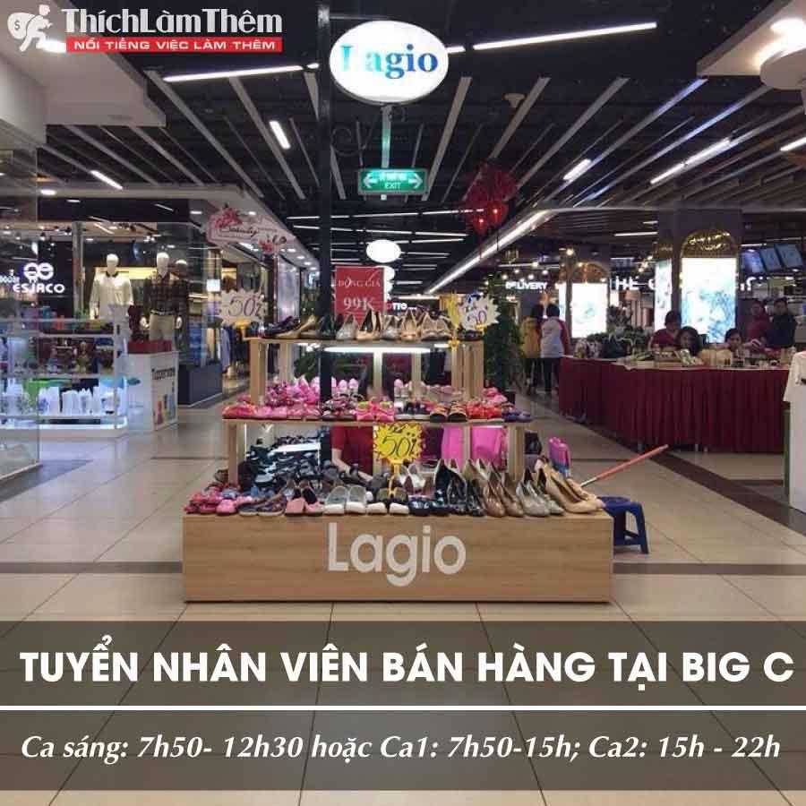 Tuyển nhân viên bán hàng thời trang tại Big C Thăng Long