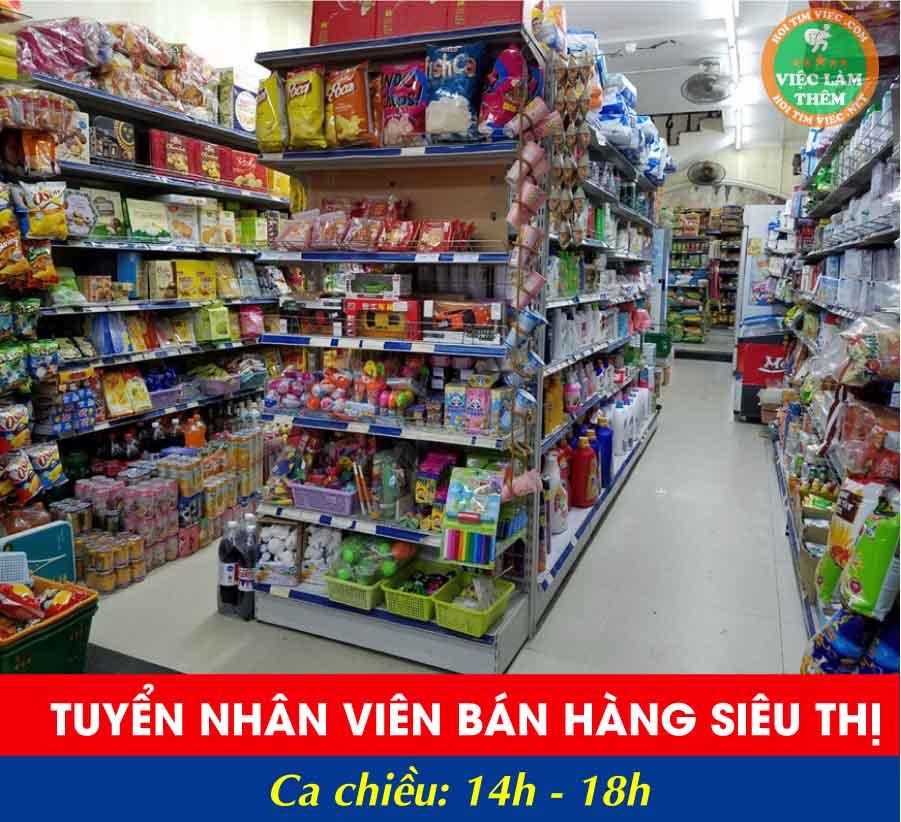 Tuyển bán hàng siêu thị – Siêu thị 12Gmart