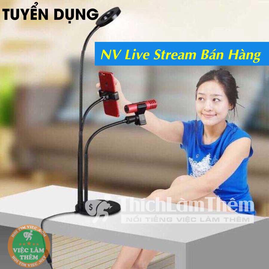 Tuyển nhân viên livestream bán hàng – Shop Thời Trang