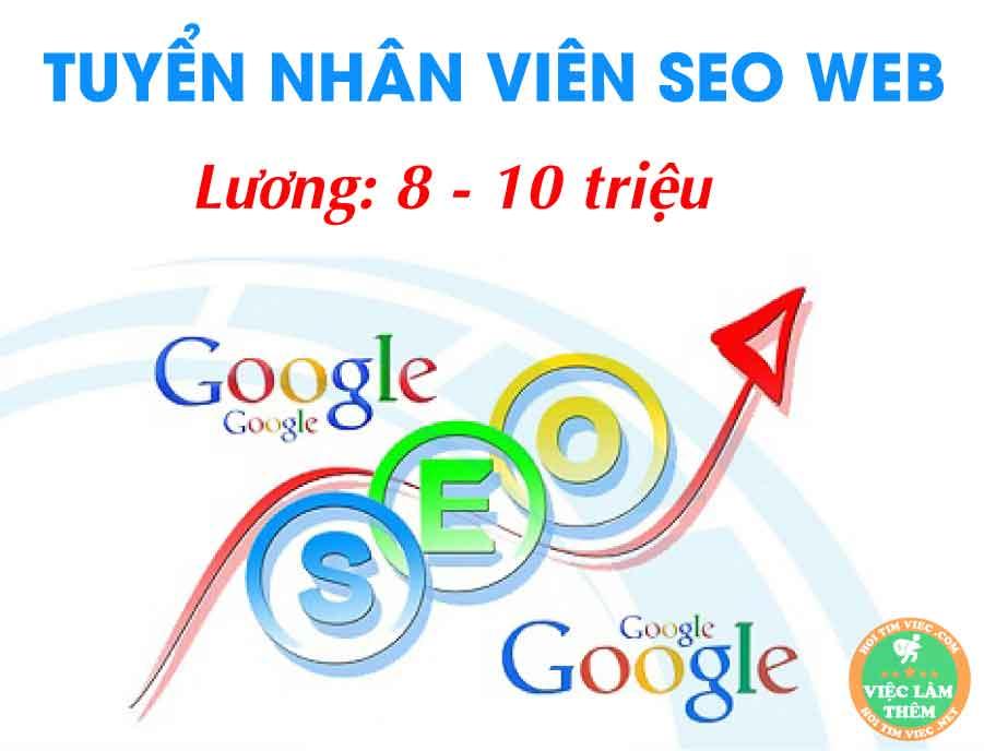 Tuyển nhân viên Seo wesite – Công ty TNHH TM và Trang Trí Nội Thất Việt Phát