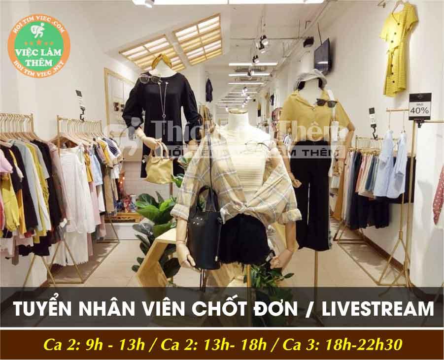 Tuyển nhân viên bán hàng – Shop thời trang Lemoncharm