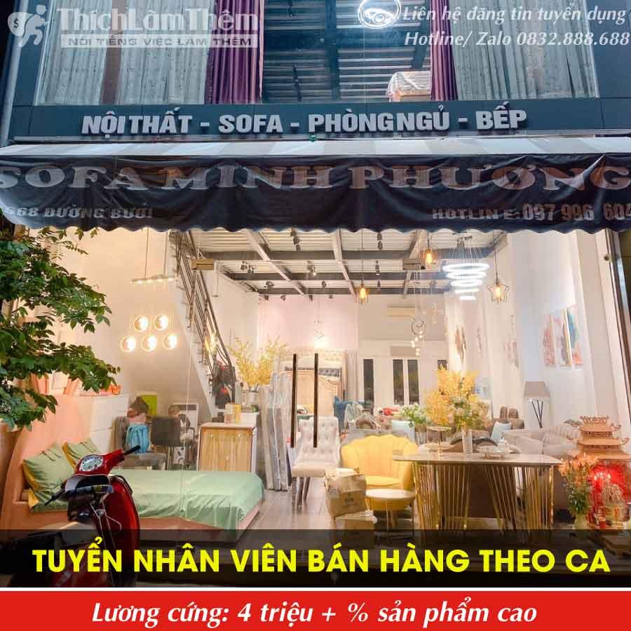 Tuyển nhân viên bán hàng – Showroom Sofa Minh Phương
