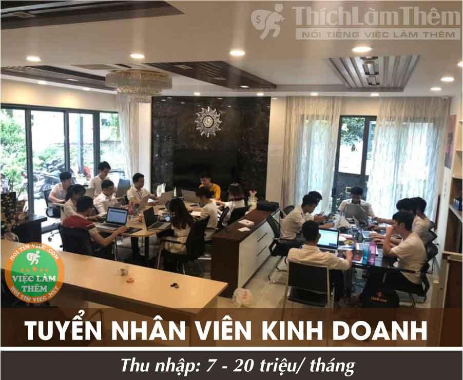 Tuyển nhân viên kinh doanh – Công ty Ebay Amazon Việt Nam
