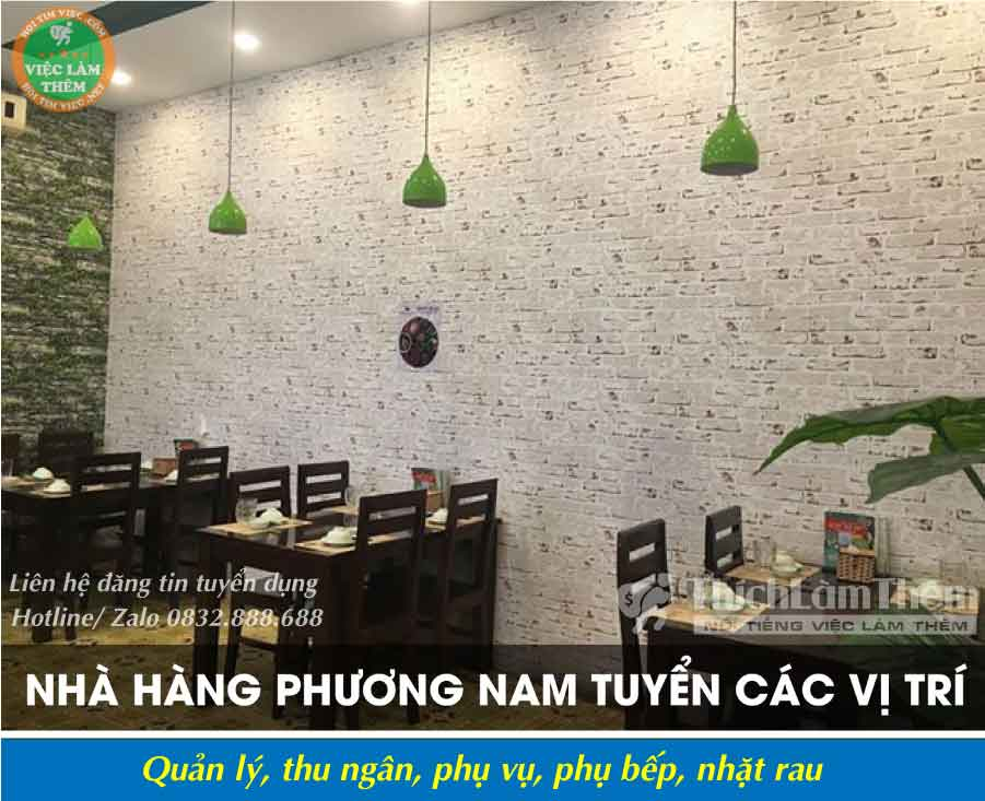 Tuyển nhân viên nhiều vị trí – Nhà hàng Phương Nam_ Món Ngon Miền Nam