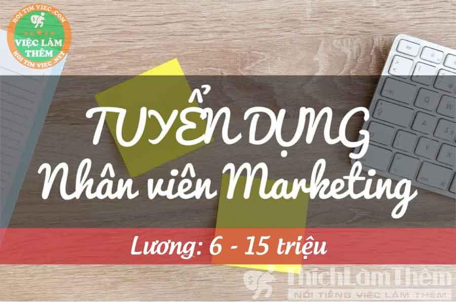 Tuyển nhân viên marketing – TTNHH Thương Mại Dịch Vụ Và Đầu Tư Land Việt