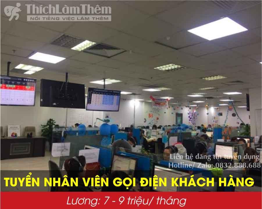 Tuyển nhân viên telesale – Trung tâm Tele