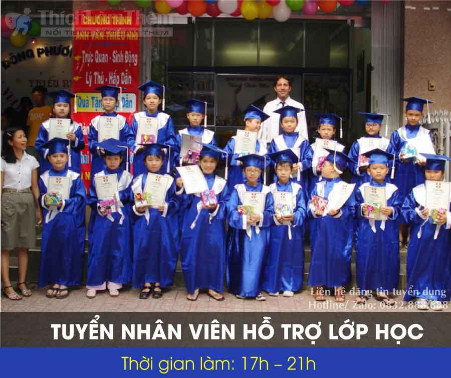 Tuyển nhân viên hỗ trợ lớp học – Trung tâm Anh Ngữ Đông Phương Mới