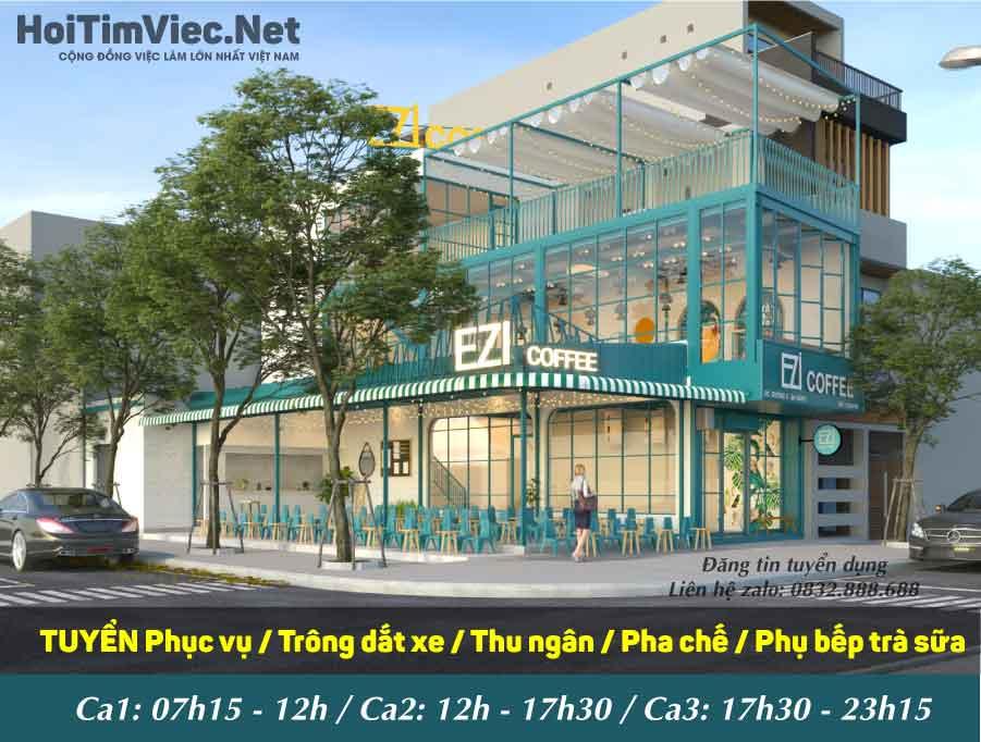 Tuyển nhân viên các vị trí – EZI Coffee