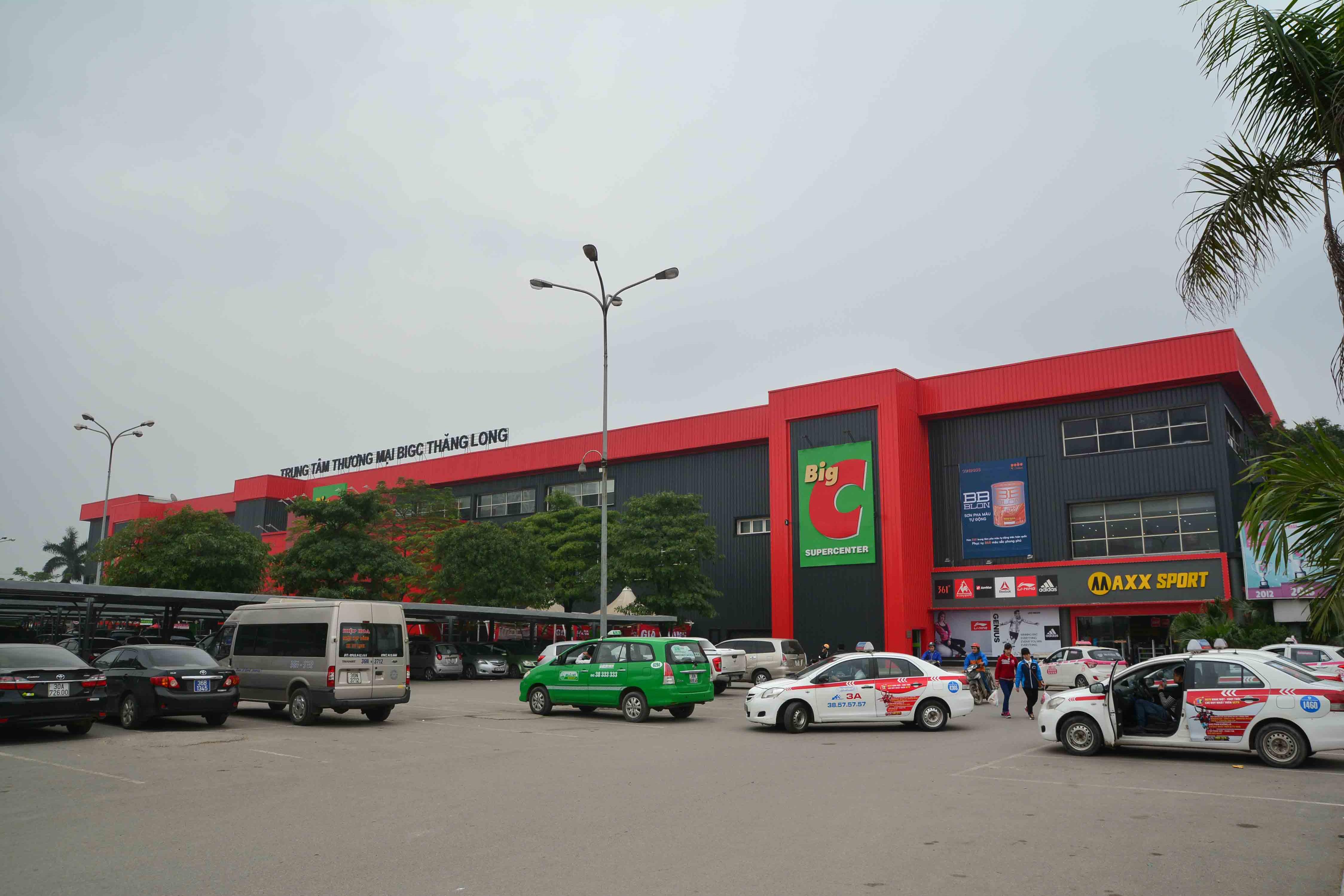Tuyển nhân viên bảo vệ – Làm tại siêu thị Big C Thăng Long