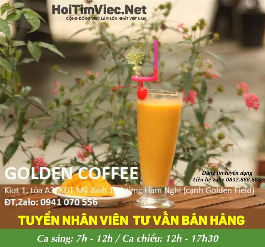 Tuyển nhân viên phục vụ – GOLDEN COFFEE