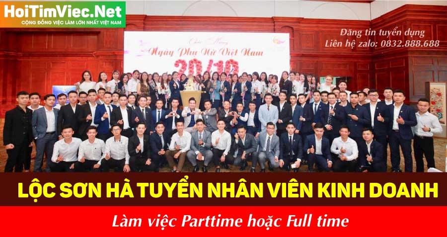 Tuyển nhân viên nhiều vị trí – Công ty Lộc Sơn Hà