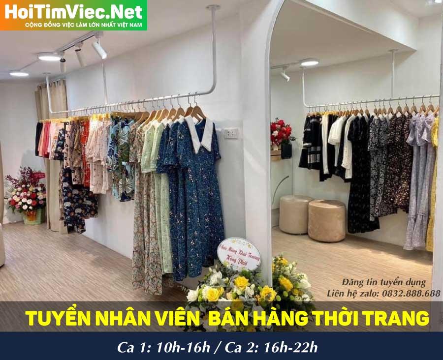 Tuyển nhân viên bán hàng theo ca – Shop LoveM