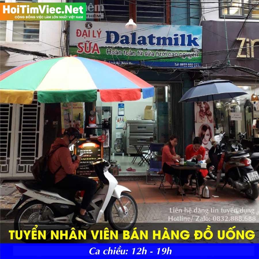 Tuyển nhân viên cửa hàng đồ uống – Station Drink