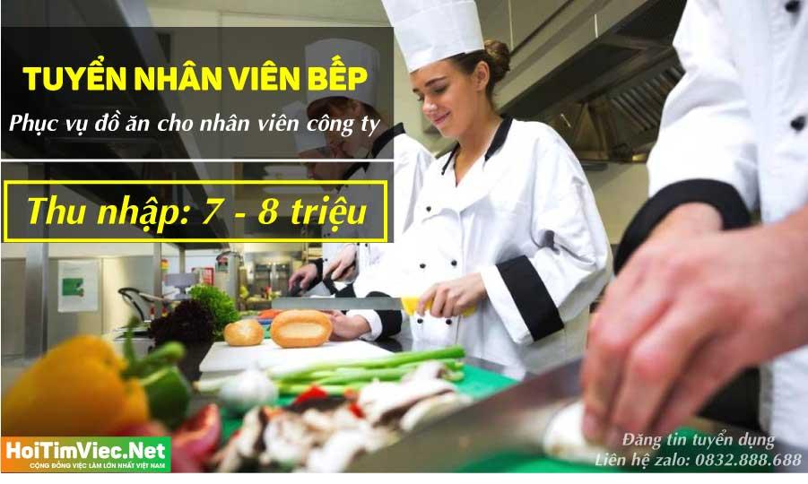 Tuyển đầu bếp bếp chính cho công ty – Công ty Thái Sơn