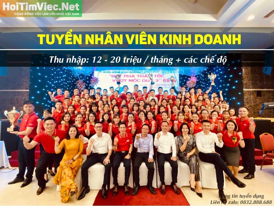 Tuyển nhân viên kinh doanh lương cao – Công ty BHNT Daii-Chi Nhật Bản