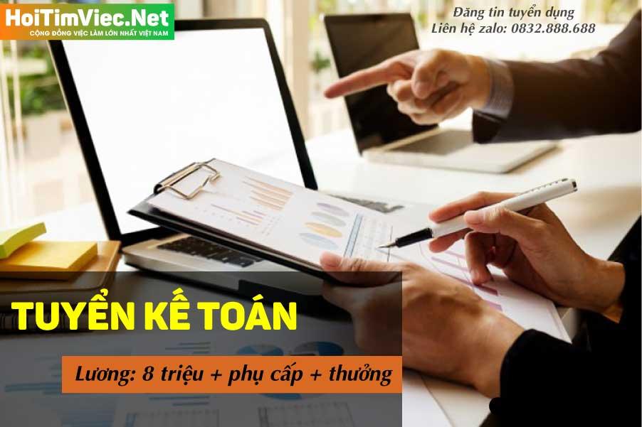 Tuyển nhân viên kế toán lương cao – Công ty Nhôm Kính Luân Ninh