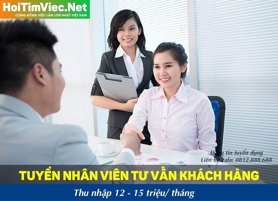 Tuyển nhân viên tư vấn khách hàng – Công ty online