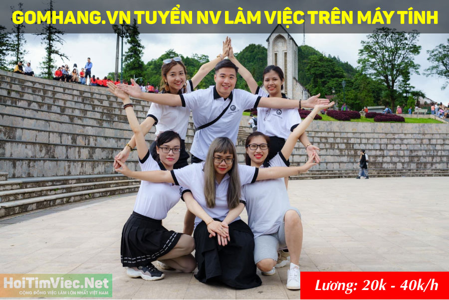 Tuyển nhân viên văn phòng – Gomhang.vn