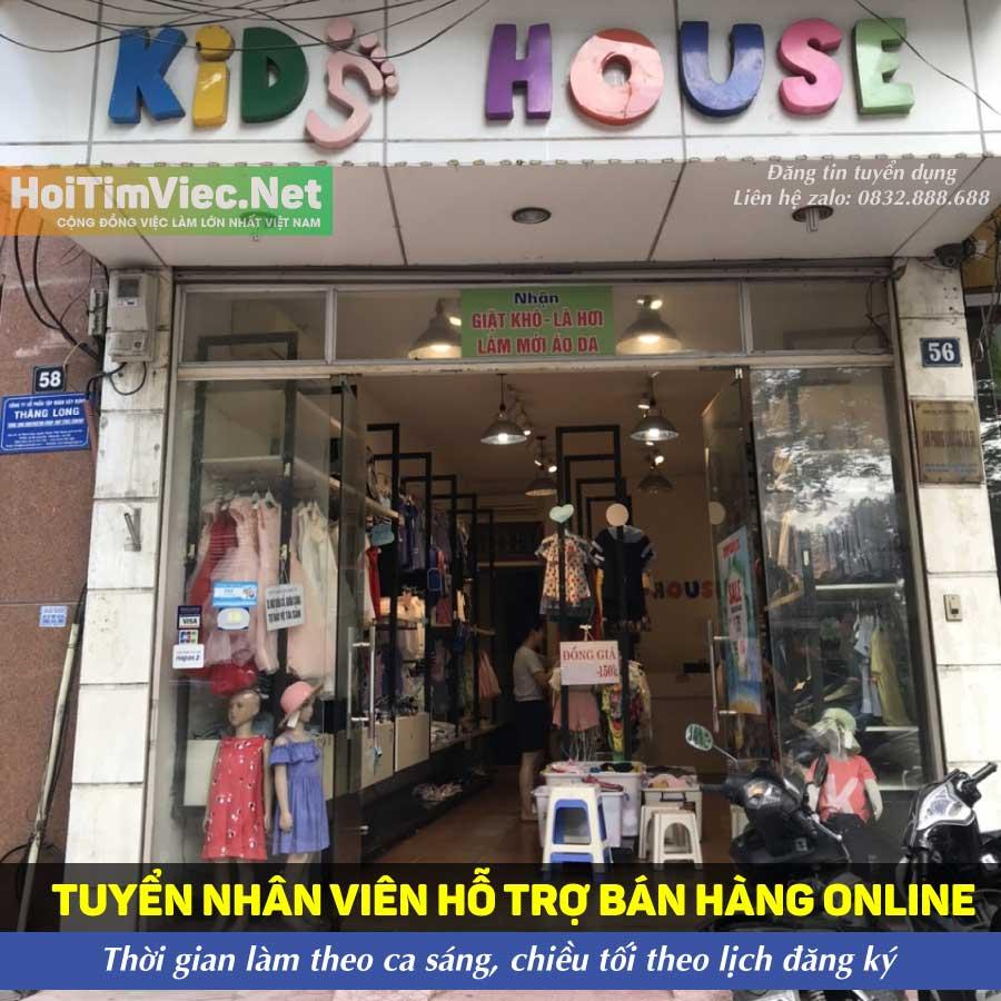 Tuyển nhân viên livestream bán hàng – Kids House