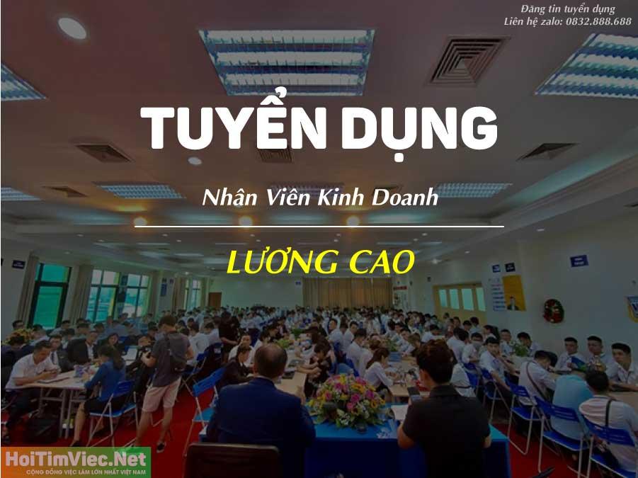 Tuyển nhân viên kinh doanh – Công ty bất động sản Việt Anh