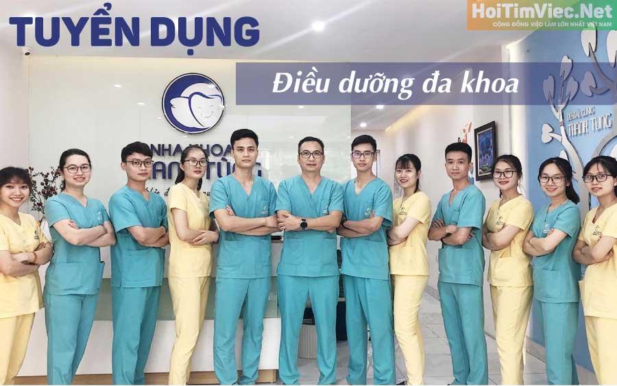 Tuyển y tá điều dưỡng – Nha Khoa Thanh Tùng