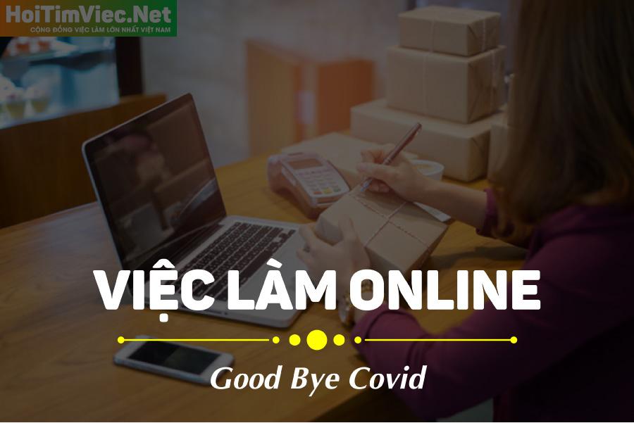 Tuyển nhân viên làm online tại nhà mùa Covid