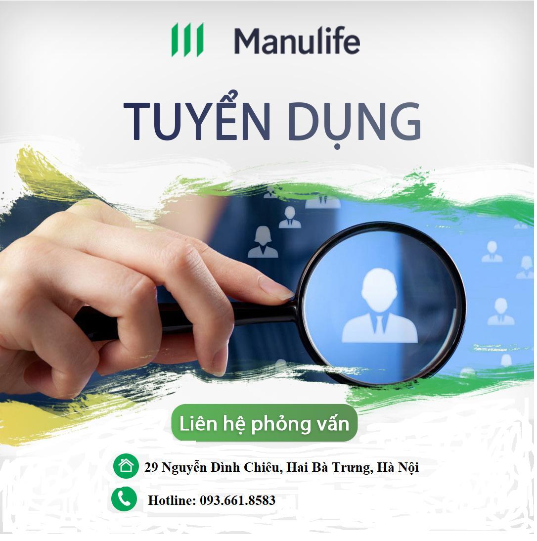 Tuyển nhân viên kinh doanh – Manulife Việt Nam