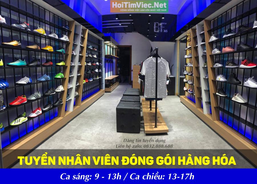 Tuyển nhân viên kho hàng – Shop BF 365