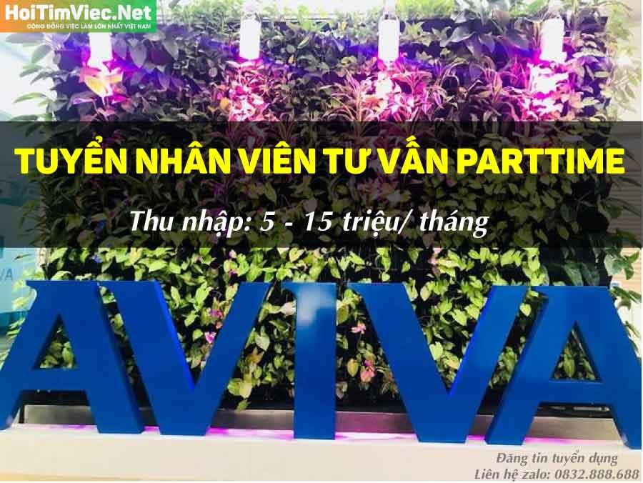 Tuyển nhân viên tư vấn – Công ty bảo hiểm AVIVA