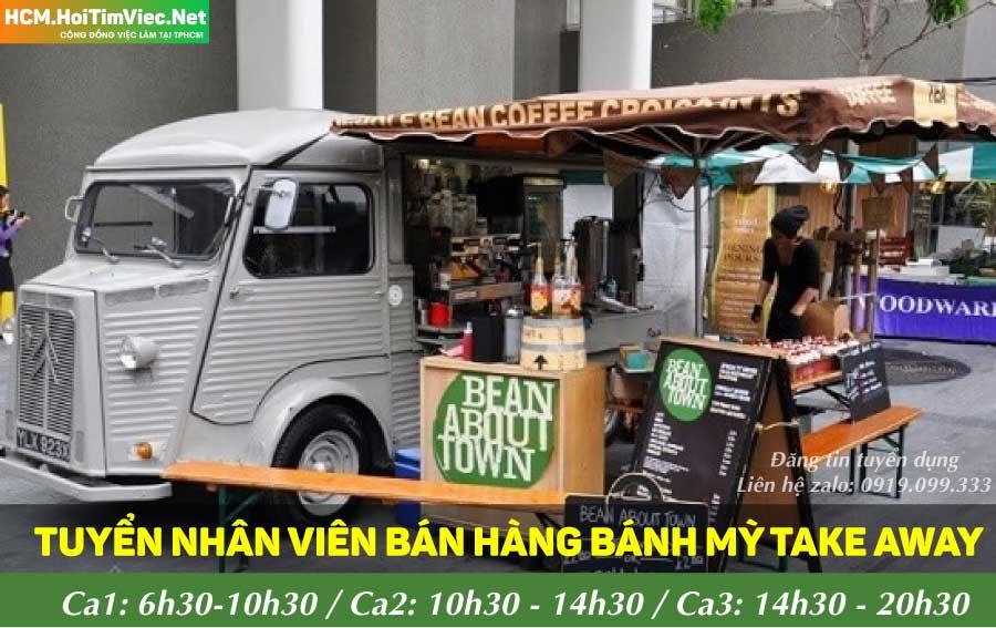 Tuyển nhân viên bán hàng – Chuỗi cửa hàng bánh mì Hong Kong
