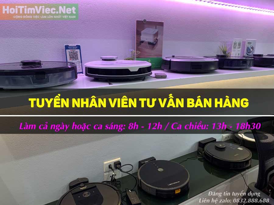 Tuyển nhân viên tư vấn bán hàng – Robotics Việt Nam