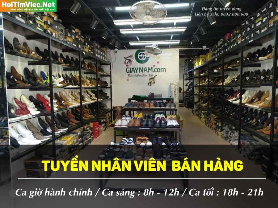 Tuyển nhân viên CNTT kết hợp bán hàng online – Shop Giaynam.com