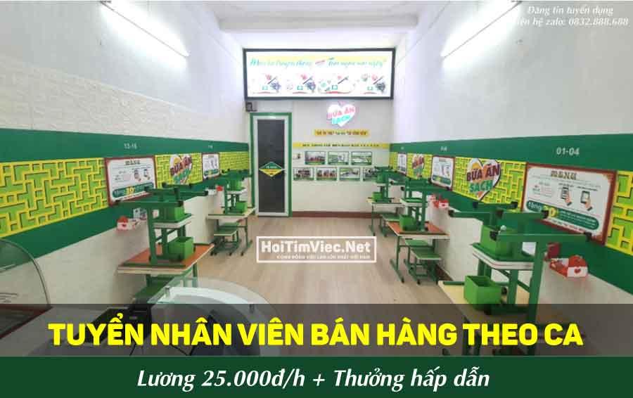 Tuyển nhân viên bán hàng – Cửa hàng bữa ăn sạch LQ