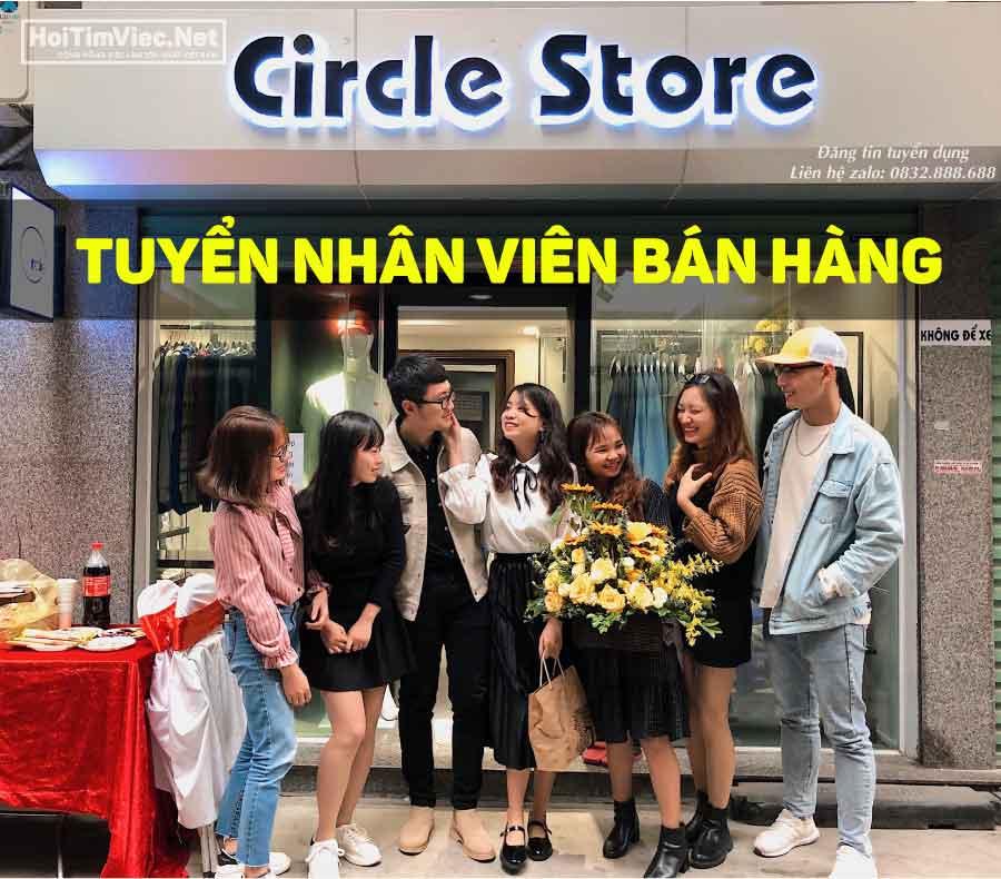 Tuyển nhân viên bán hàng – Circle Store